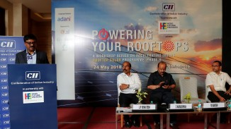 Chairman, CII Coimbatore Zonal Council & MD, Alphacraft, M Ramesh setting the context.