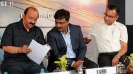 (L-R) C Narasimhan, M Ramesh, R Sunder.