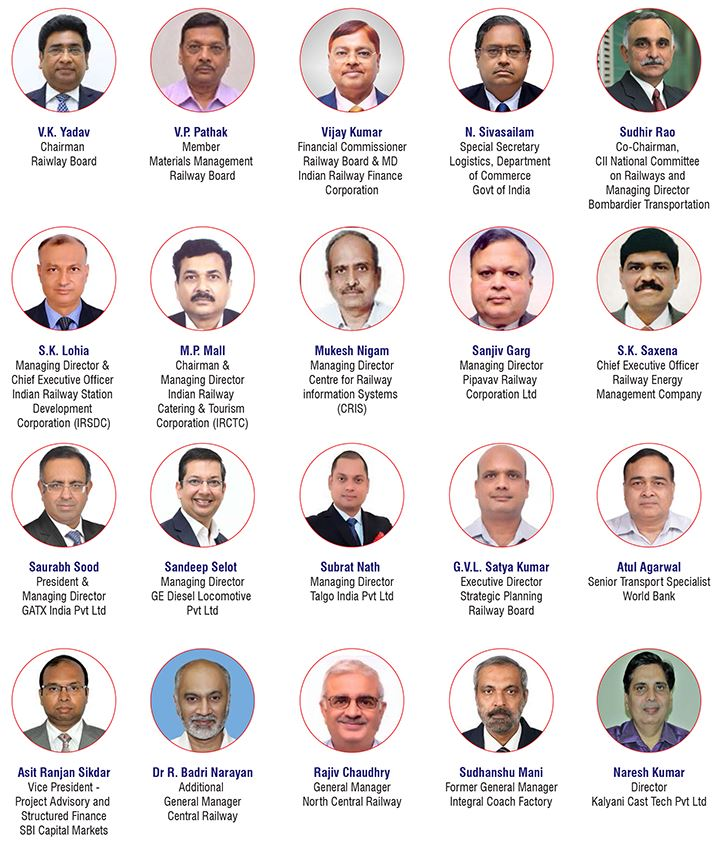 CII RailConnect 2019 Speakers